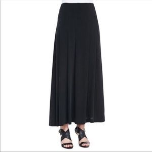 Eileen Fisher Silk Maxi Skirt in cream